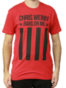 Image of Chris Webby Bars And Stripes T shirtw /leaf