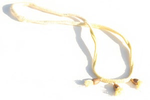 Image of Bell Necklace Weld/Yellow