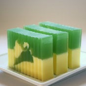 Image of Banana Kiwi Shea Butter Soap Bar (Vegan)