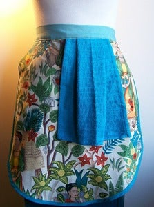 Image of Frida Kitchen Apron - Half