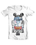 Image of SLOTH x R2 White T