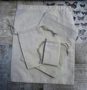Image of Cotton Muslin Bags- Variety Bundle and Backpacks