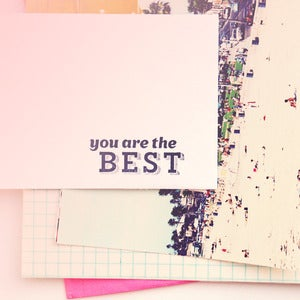 Image of You Are the Best | Rubber Stamp