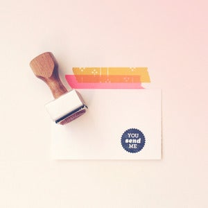 Image of You Send Me | Rubber Stamp