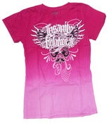 Image of Womens Dip Dyed Fashion Tee