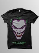 Image of Joker Face (Black T-Shirt)