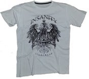 Image of Insanity White Crest Tee
