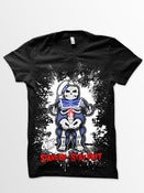 Image of Stand Up - Stay Puft (Black T-shirt)