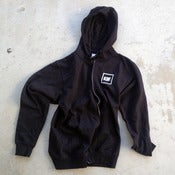 Image of Zip Up Hooded Sweatshirt
