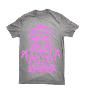 Image of Tropical Tiki Grey/Pink