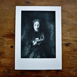 Image of Print ~ Mrs & Owl
