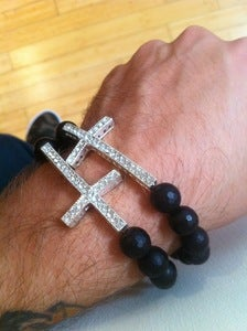 Image of Double Cross Bracelet