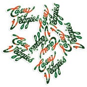 "Image of Casey Veggies ""6 Pack"" Sticker Pack"