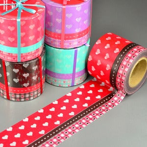 Image of Hearts Big + Small Washi Tape