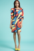 Image of Colorful Print Dress