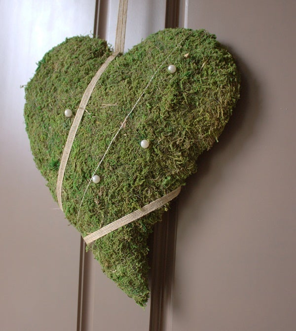 Image of Decor Moss Heart - Large (Swedish design)