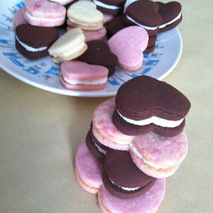 Image of Heart Sandwich Cookies