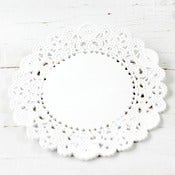 Image of White Doilies