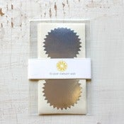 Image of NEW - Silver Starburst Seals