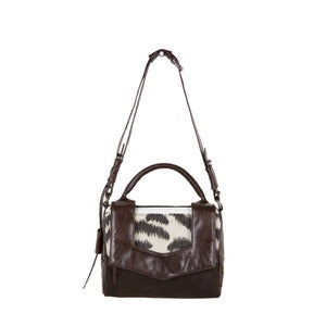 Image of Margot Bag - brown zebra