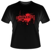 Image of Rookered blood splatter t-shirt