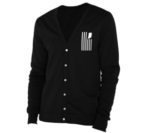 Image of USI Flag Cardigan