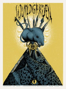 Image of Soundgarden at the Hammerstein Ballroom in NYC Poster