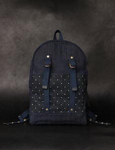 Image of Aleutian Pack - Navy & Indigo Dot