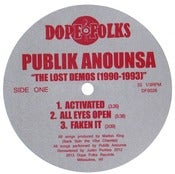 Image of PUBLIK ANOUNSA &quot;THE LOST DEMOS 1990-1993&quot;