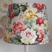 Image of Bewley Large Retro Drum Lampshade