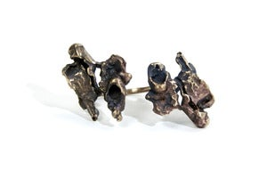 Image of 2by2 Ring ~ Bronze