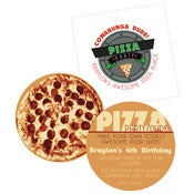 Image of Teenage Mutant Ninja Turtles-printable Pizza Invite
