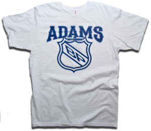Image of Adams Division - Classic NHL Division Series tee by Backpage Press