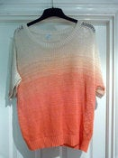 Image of Ombre neon jumper