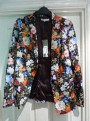 Image of Winter floral blazer