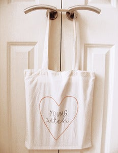 Image of Young Witch - Tote Bag