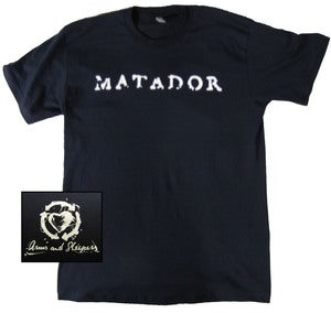 Image of Matador t-shirt (navy blue)