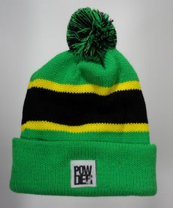 Image of Winter Beanie - Green