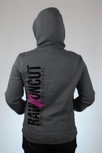 Image of Raw & Uncut - Women's Grey Hoodie