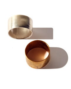 Image of Natalie Marie &gt; Cuff Ring &gt; Unisex &gt; Gold