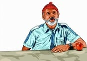 Image of Life Aquatic A3 Print