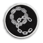 "Image of Out Crowd - 3"" Chain Patch"