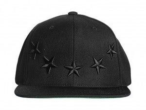 Image of 40 oz Nyc Givenchy Inspired Snapback Black on Black