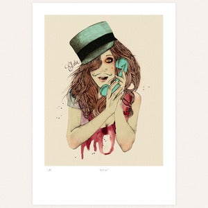 Image of 'Sexy Mo'' print édition 'Deluxe' by Ëlodie