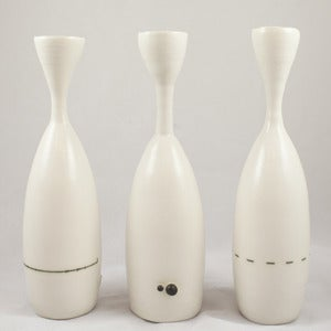Image of Trio of Decorative Porcelain Vases
