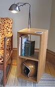 Image of Bates lamp side table