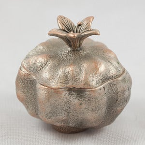 Image of Seed Pod Pewter Trinket Dish