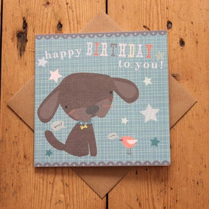 Image of Carnival Kids - Puppy Birthday Card