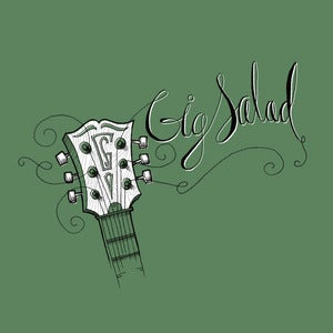 Image of Guitar Strings Tee (Green)