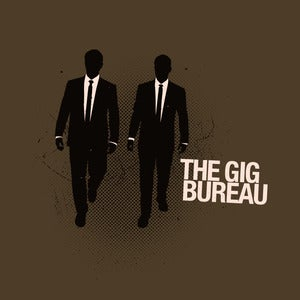Image of Gig Bureau Gritty Tee (Brown)